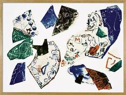 """Bild """"Jugendsünde"""" (1991), gerahmt"""