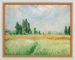 """Bild """"Weizenfeld"""" (1881), gerahmt"""