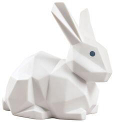 """Porzellanfigur """"Kaninchen"""", weiße Version"""