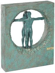 "Skulptur ""Air"", Kunstguss Steinoptik"