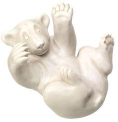 """Skulptur """"Bärenjunges"""", Version in Steinguss"""
