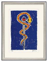 """Bild """"Aesculap Blue/Yellow"""" (2008), ungerahmt"""