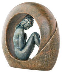 "Skulptur ""Venus"", Kunstguss Steinoptik"