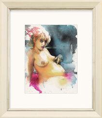 "Bild ""Ohne Titel (pink)"" (2001) (Unikat)"