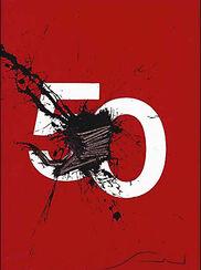 "Bild ""Il Numero 50"", ungerahmt"
