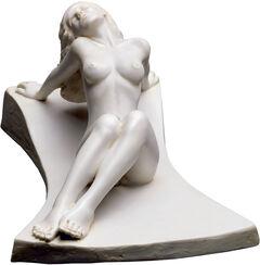 "Skulptur ""Euphrosyne"", Version in Kunstmarmor"