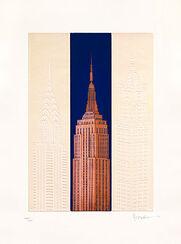 """Bild """"New York - Empire State Building"""", ungerahmt"""