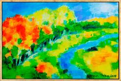 """Bild """"Landschaft II"""" (2015) (Unikat)"""