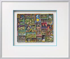 "3D-Bild ""A pride in a culture like no other"" (2007), gerahmt"