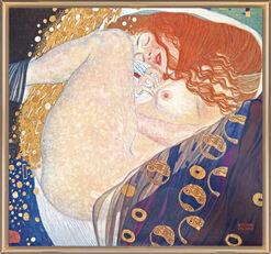 """Bild """"Danae"""" (1907), gerahmt"""