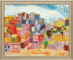"""Bild """"Sizilien bei S. Andrea"""" (1924), gerahmt"""
