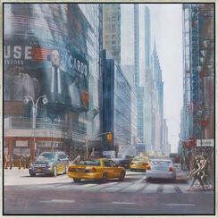 "Bild ""Chrysler Building"", gerahmt"