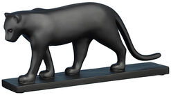 "Skulptur ""Schwarzer Panther"", Kunstguss"