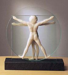 "Skulptur ""Schema delle Proporzioni"", Version in Kunstmarmor"