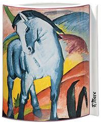 "Porzellanvase ""Blaues Pferd"" (1911)"
