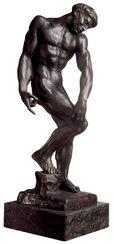 """Skulptur """"Adam oder der große Schatten"""" (1880), Version in Bronze"""
