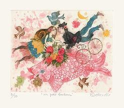 """Bild """"Un petit bonheur (Ein kleines Glück)"""" (2010), ungerahmt"""