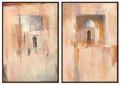 """2 Bilder """"Erinnerungen an Tunis"""" + """"Ägyptische Impression"""" im Set"""