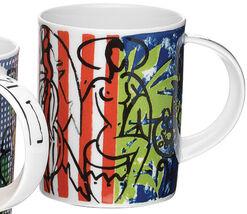 "Kaffeebecher ""Banana in Stripes"", Porzellan"