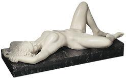 "Skulptur ""Europa"" (1992), Version in Kunstmarmor"