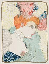 """Bild """"Mlle. Marcelle Lender, en buste"""" (1895)"""
