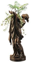 "Statuette ""Göttin Flora"" (mit Vaseneinsatz), Version in Kunstbronze"