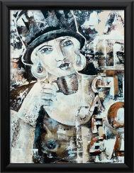 """Bild """"Die 30er - Espresso"""", gerahmt"""