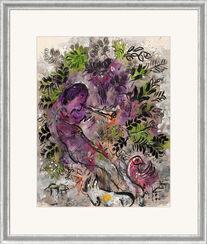 """Bild """"Der Junge in den Blumen"""" (1955), gerahmt"""