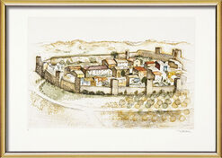 "Bild ""Monteriggioni"" (1999), gerahmt"