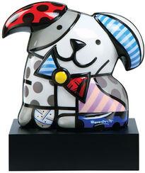 """Porzellanskulptur """"Hund Ginger"""""""