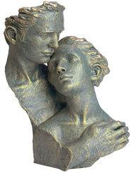 """Skulptur """"Desvolo"""", Kunstguss Steinoptik"""