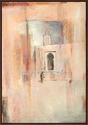 """Bild """"Erinnerungen an Tunis"""", gerahmt"""