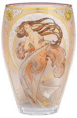 """Glasvase """"Der Tanz"""" (1898) mit Goldelementen"""