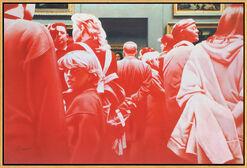 """Bild """"La Gioconda"""" (2006), gerahmt"""