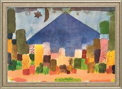 """Bild """"Der Niesen - Ägyptische Nacht"""" (1915), gerahmt"""