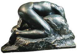 "Skulptur ""La Danaide"" (1889/90), Version in Kunstbronze"