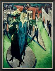 "Bild ""Potsdamer Platz"" (1914), gerahmt"