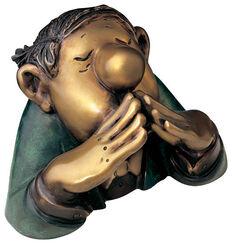"""Skulptur """"Der Kenner"""", Version in Bronze"""