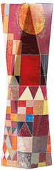 "SNUG.VASE HIGH: ""Paul Klee - Burg und Sonne"" (1928)"