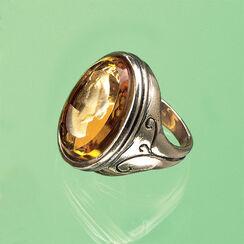 """Ring """"Amber"""" mit Glas-Intaglio"""