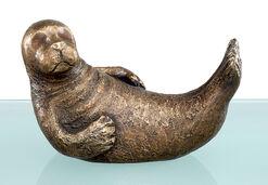 """Skulptur """"Fynn die Flosse"""" (2010), Bronze"""