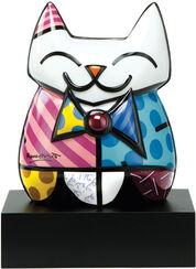 """Porzellanskulptur """"Katze La Cat"""""""