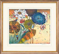"""Bild """"Lotusbesuch"""" (2005)"""