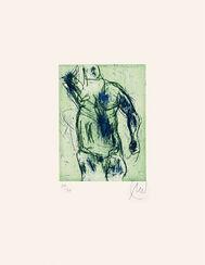 "Bild ""Herkules (blau/grün)"" (2012)"
