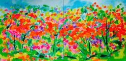 "Bild ""Blütenmeer"" (2016) (Unikat)"