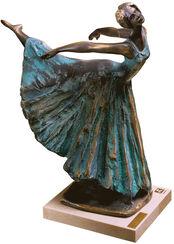 """Skulptur Ballerina """"Arabesco"""", Kunstbronze"""