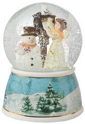 """Schneekugel """"Weihnachtspost"""""""