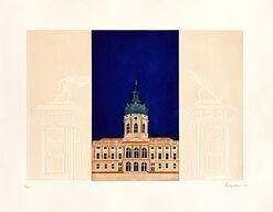 """Bild """"Schloss Charlottenburg"""", ungerahmt"""