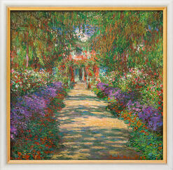"Bild ""Garten in Giverny"" (1902), gerahmt"