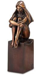 """Skulptur """"Blick in die Zukunft"""", Version in Bronze"""